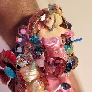 Wendy Gell Wristy Marilyn Monroe in Pink Dress